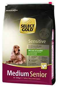 Select Gold Sens medium senior kacsa 4kg