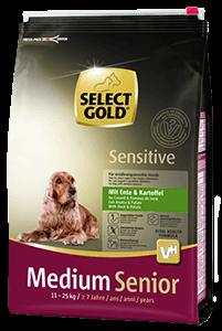 Select Gold Sens medium senior kacsa 4kg