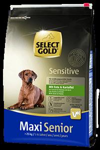 Select Gold Sens maxi senior kacsa 4kg