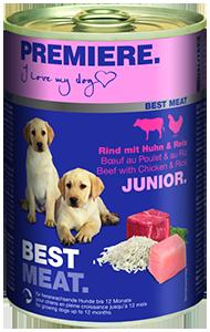 PREMIERE Best Meat konzerv junior csirke&marha 400g