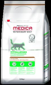 PetBalance Medica hipoallergén pulyka 2,5kg