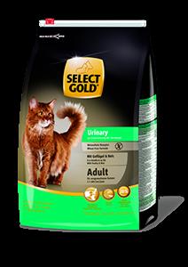 Select Gold adult urinary szárnyas 3kg