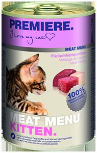PREMIERE Meat Menü konzerv kitten húsos 400g