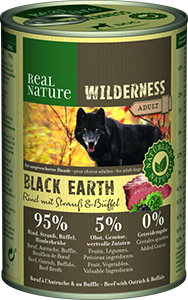 Real Nature Wilderness konzerv adult marha&bivaly 400g