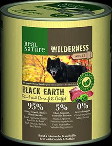 Real Nature Wilderness konzerv adult marha&bivaly 800g