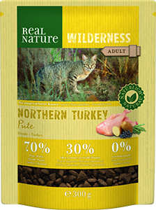Real Nature Wilderness adult nort. pulyka 300g