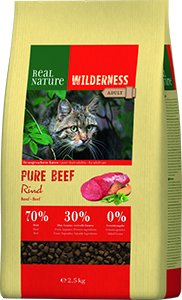 Real Nature Wilderness adult pure marha 2,5kg
