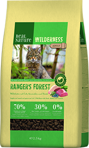 Real Nature Wilderness adult rangers forest 2,5kg