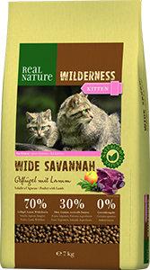 Real Nature Wilderness kitten wide savanna 7kg