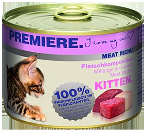 PREMIERE Meat Menü konzerv kitten húsos 200g