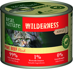 Real Nature Wilderness konzerv adult pure marha 200g