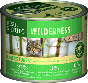 Real Nature Wilderness konzerv adult rangers forest 200g
