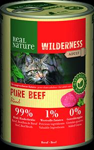 Real Nature Wilderness konzerv adult pure marha 400g