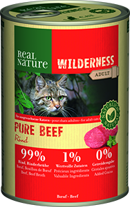 Real Nature Wilderness konzerv adult pure marha 400g