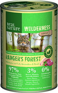 Real Nature Wilderness konzerv adult rangers forest 400g