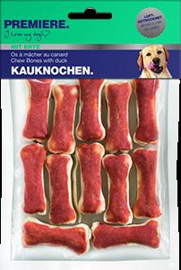 PREMIERE snack rágócsont 120g kacsa 12db