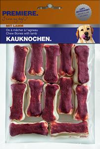PREMIERE snack rágócsont 120g bárány 12db