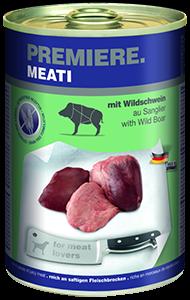 PREMIERE Meati konzerv adult vaddisznó 400g
