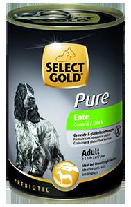 Select Gold Pure konzerv adult kacsa 400g