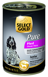 Select Gold Pure konzerv junior lóhús 400g