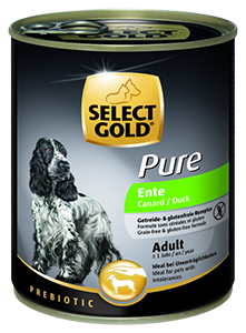Select Gold Pure konzerv adult kacsa 800g