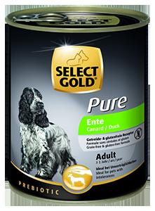 Select Gold Pure konzerv adult kacsa 800g