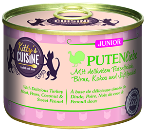 KITTY'S konzerv junior pulyka 200g