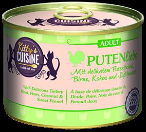 KITTY'S konzerv adult pulyka 200g