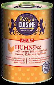 KITTY'S konzerv adult csirke 400g