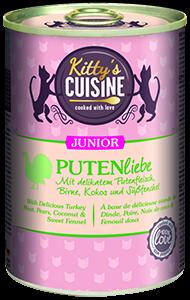 KITTY'S konzerv junior pulyka 400g