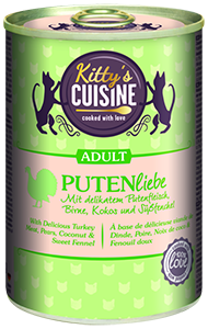 KITTY'S konzerv adult pulyka 400g