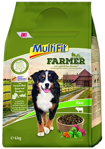 MultiFit Farmer maxi adult marha&spenót 4kg