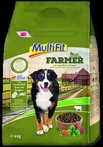 MultiFit Farmer maxi adult marha&spenót 4kg