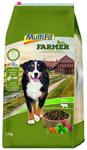 MultiFit Farmer maxi adult marha&spenót 12kg
