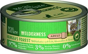 Real Nature Wilderness konzerv adult rangers forest 100g