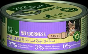 Real Nature Wilderness konzerv adult open land 100g