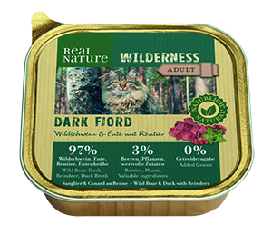 Real Nature Wilderness tálka adult dark fjord 100g