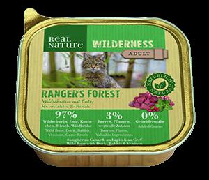 Real Nature Wilderness tálka adult rangers forest 100g