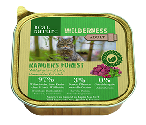 Real Nature Wilderness tálka adult rangers forest 100g