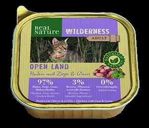 Real Nature Wilderness tálka adult open land 100g