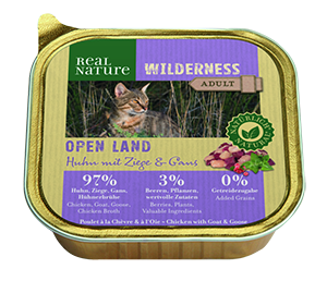 Real Nature Wilderness tálka adult open land 100g