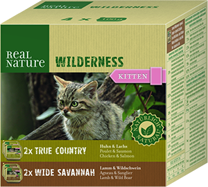 Real Nature Wilderness tálka MP kitten mix1 4x100g