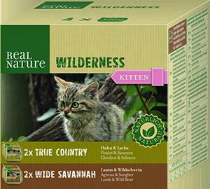 Real Nature Wilderness tálka MP kitten mix1 4x100g
