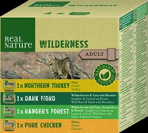 Real Nature Wilderness tálka MP adult mix2 4x100g