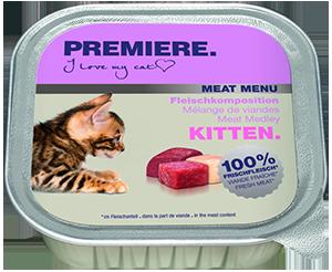 PREMIERE Meat Menü tálka kitten húsos válogatás 100g