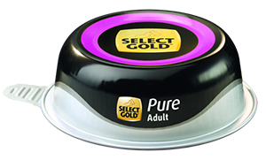 Select Gold Pure tálka adult lóhús 85g