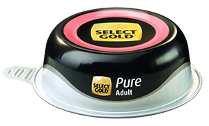 Select Gold Pure tálka adult borjú 85g