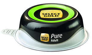 Select Gold Pure tálka adult kacsa 85g