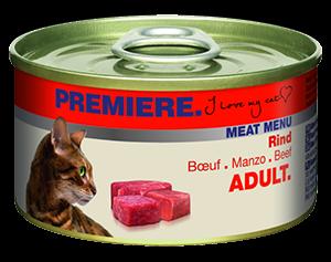 PREMIERE Meat Menü konzerv adult marha 100g