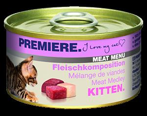 PREMIERE Meat Menü konzerv kitten húsos 100g